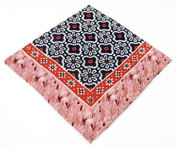 Silk Pocket Square  - Red
