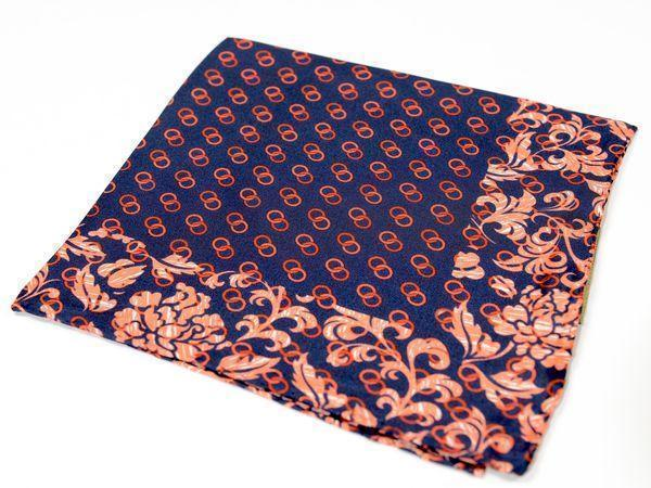 Silk Pocket Square  - RED - Ron Tomson