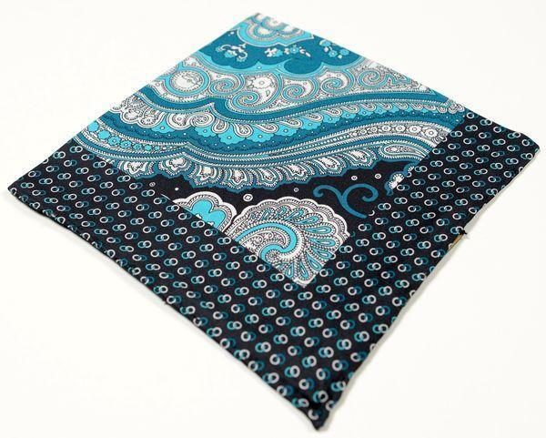 Silk Pocket Square  - Teal