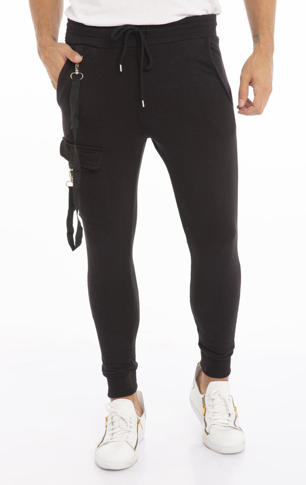 Siyah Sweatpants - Black
