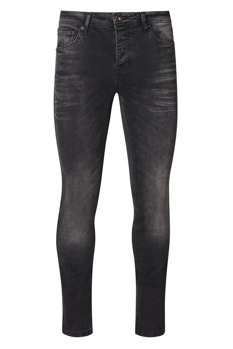 Slim Fit Jeans - Black - Ron Tomson