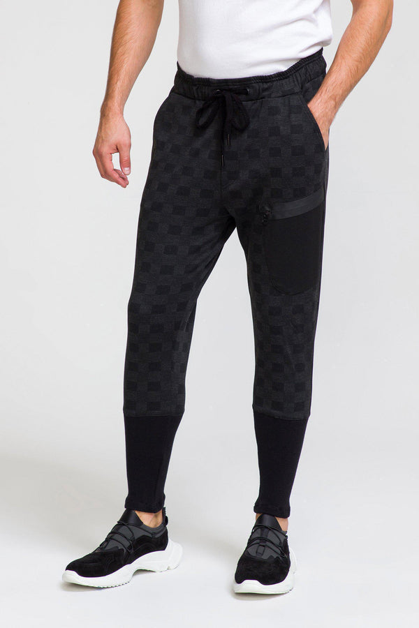 Soft Casual Trousers - Black - Ron Tomson