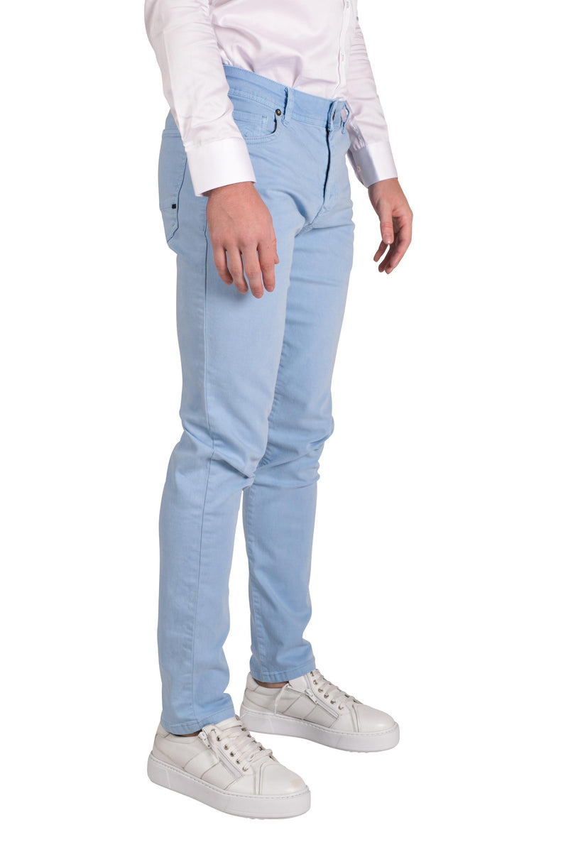 Spring Tapered Denim - Blue - Ron Tomson