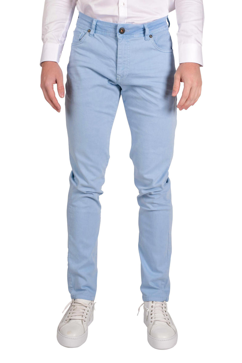 Spring Tapered Denim - Blue