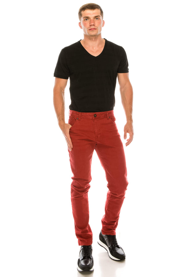 Straight Spring Denim - More colors-Jeans-RON TOMSON-RED-29-Ron Tomson