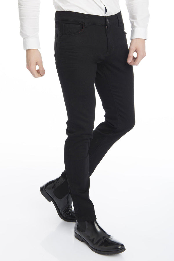 Super Stretchy Skinny Jeans - More Colors-Jeans-Ron Tomson-BLACK-29-Ron Tomson