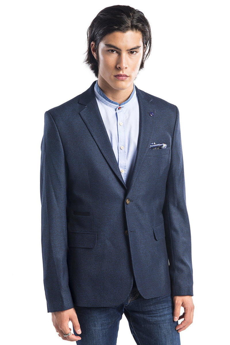 Textured Sports Jacket- More Colors - Ron Tomson
