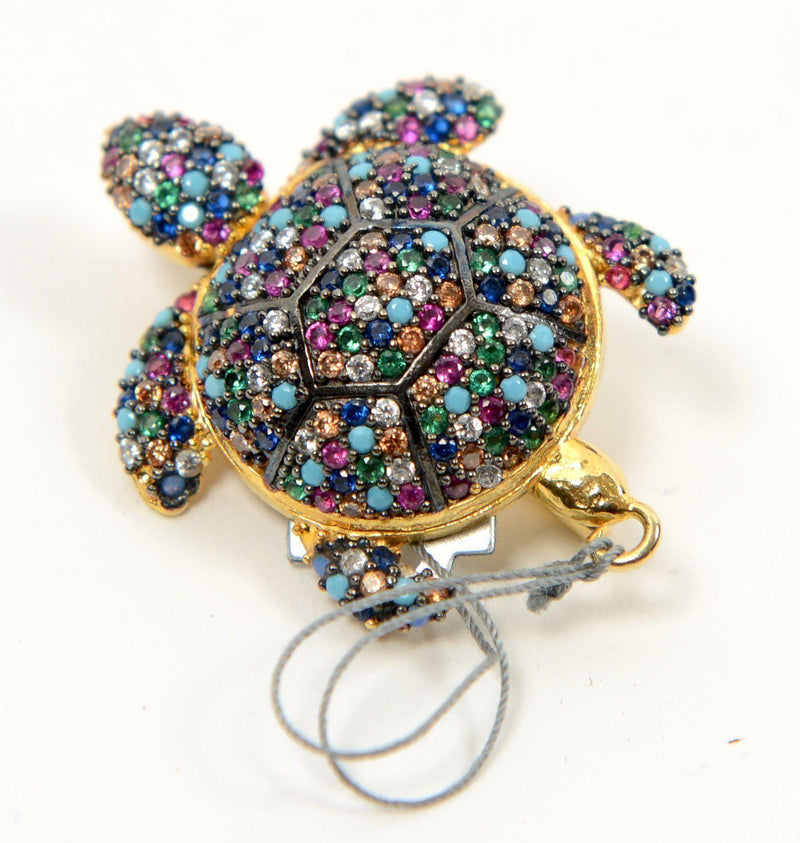 Turtle Brooch - PN-1922 - Ron Tomson