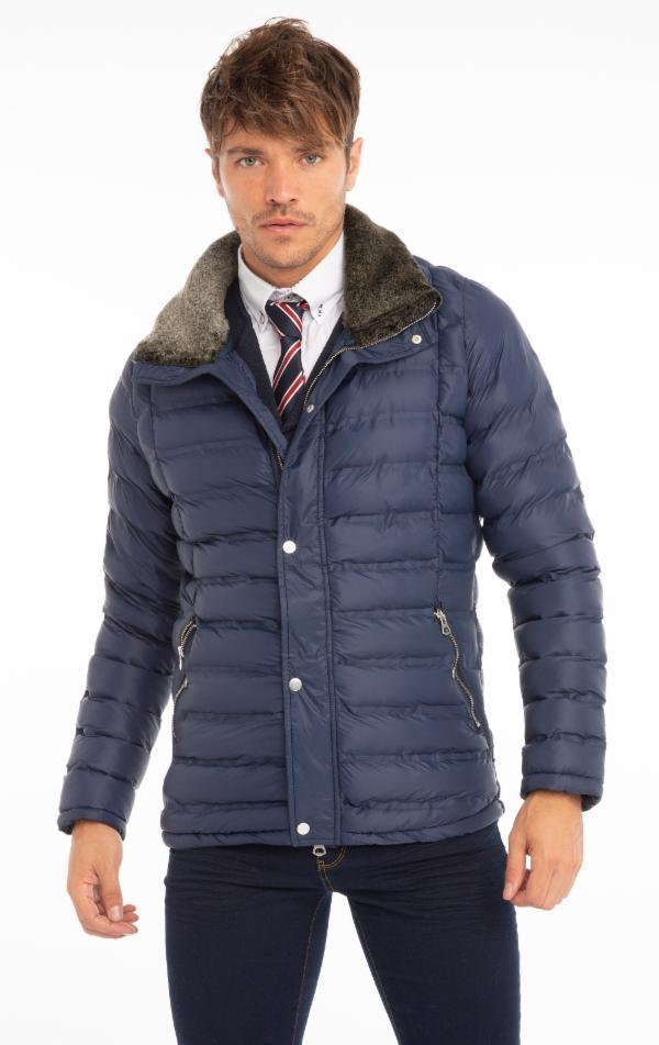 Ultra Light Down Jacket - Navy - Ron Tomson