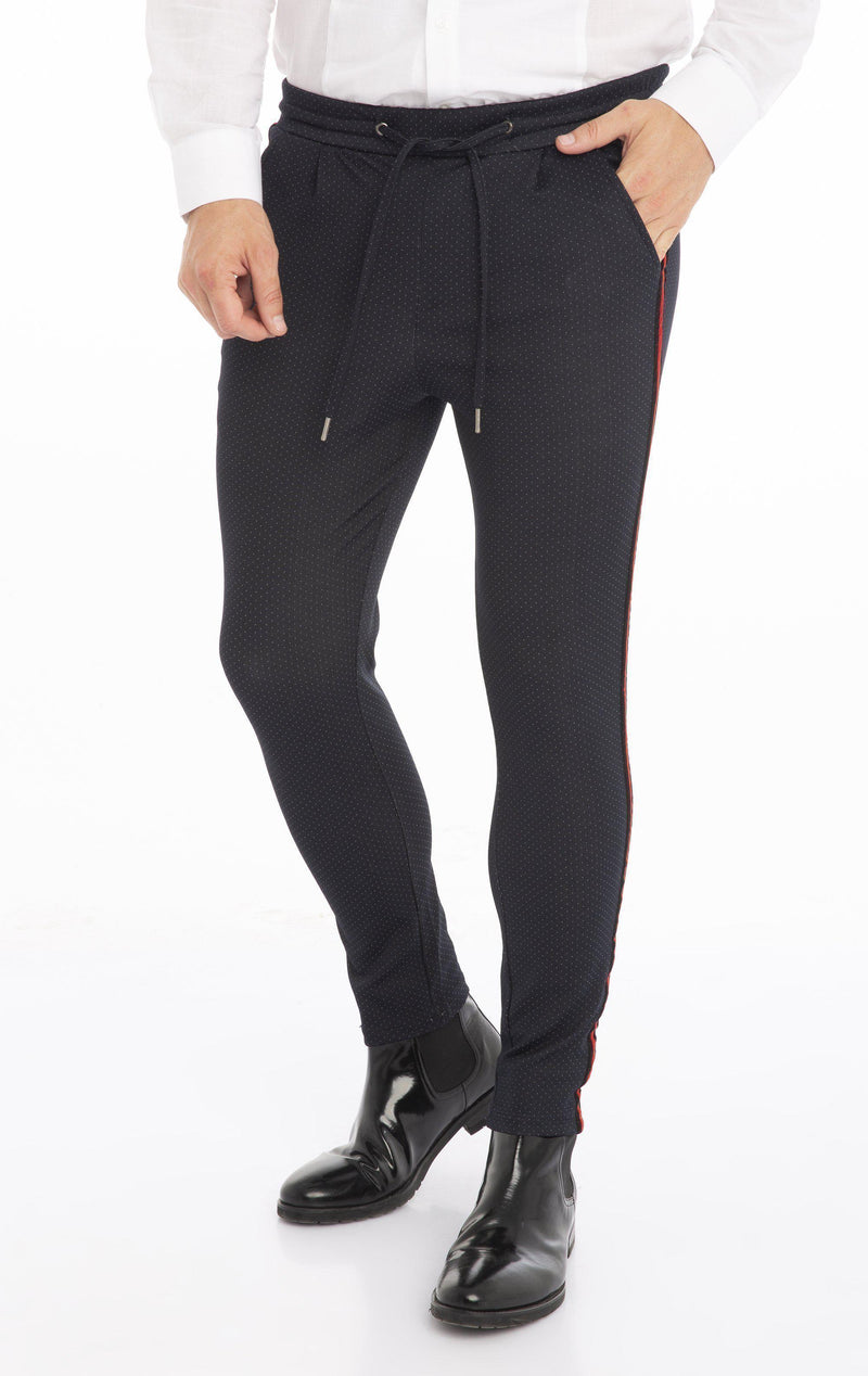 Velvet Night Joggers - Navy Nope