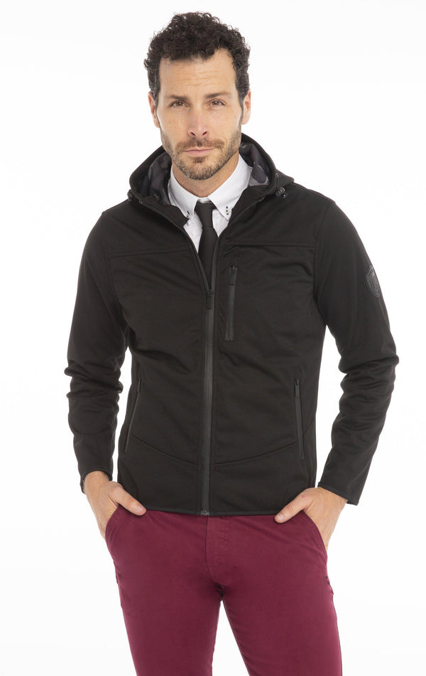 Zip Pocket Hooded Trainer Jacket - More Colors