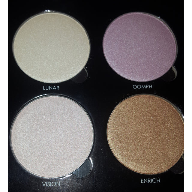 4 Well Highlighter Pallet