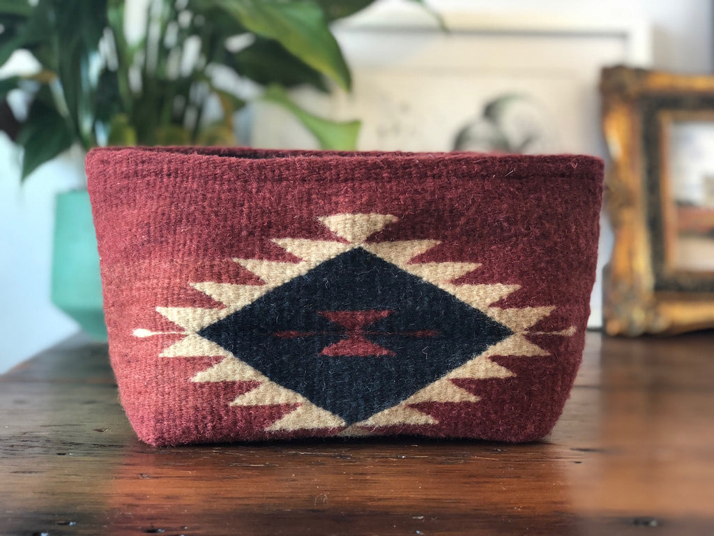 Aztec Wool Clutch