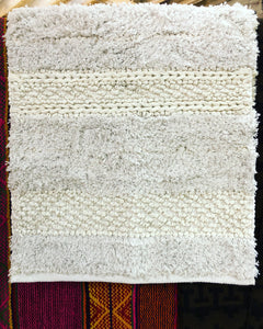 Textured Cotton Rug