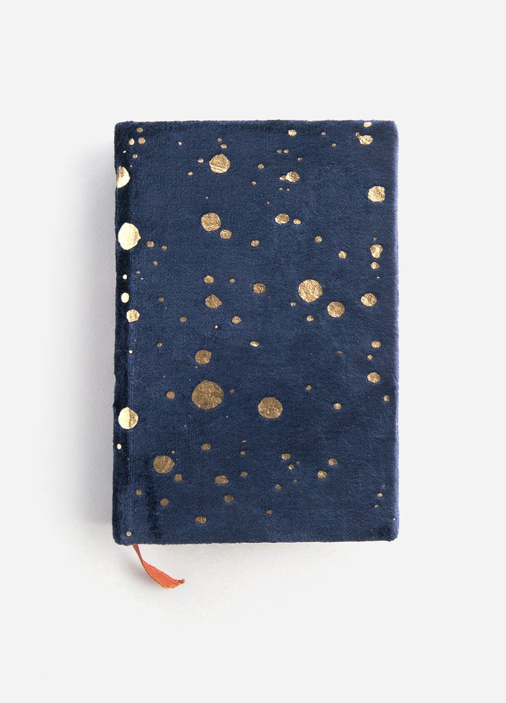 Mini Velvet Notebook