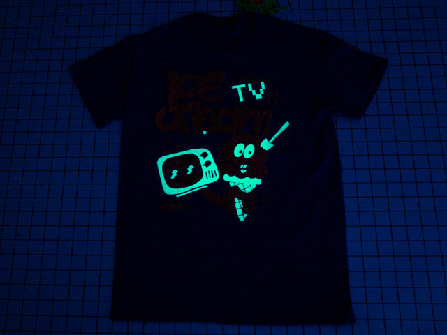 phosphorescent glow in the dark t-shirt