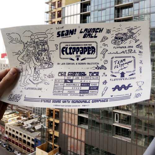 FLIPPAPER 1.1 STICKERS SET (rare)