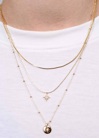 Gibbs Double Layer Necklace