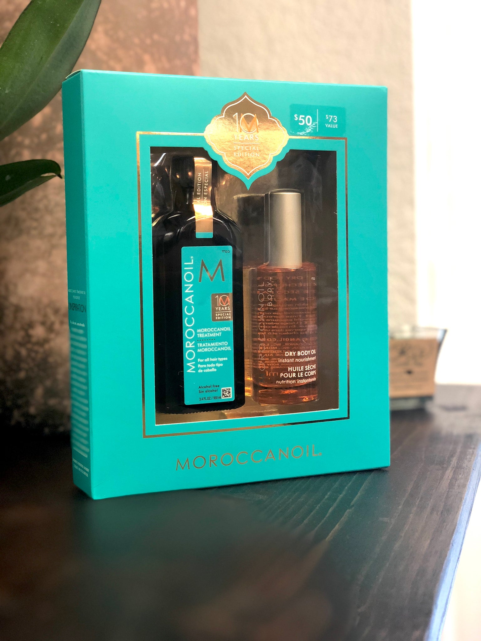 Moroccanoil 10 Year Special Edition Set