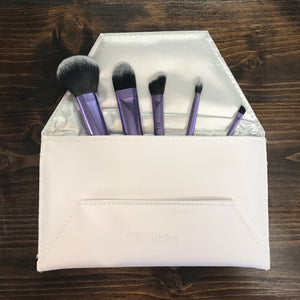 5 Piece Makeup Brush Set