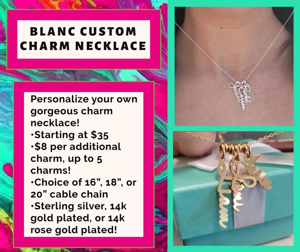 Custom Charm Necklace