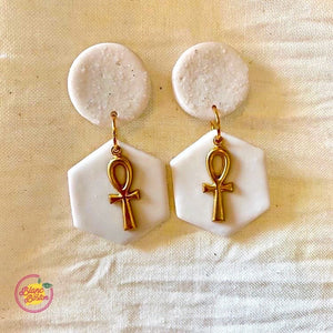 Ankh Claire Earrings