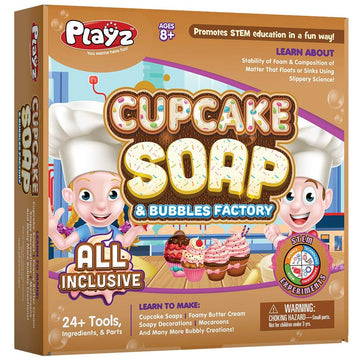 Cupcake Soap & Bubbles Science Kit