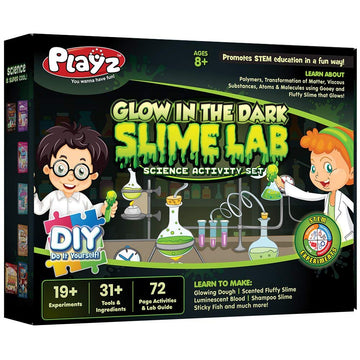 Glow in the Dark Slime Science Kit