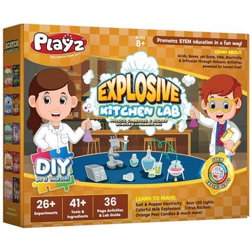 Explosive Kitchen Lab Science Kit