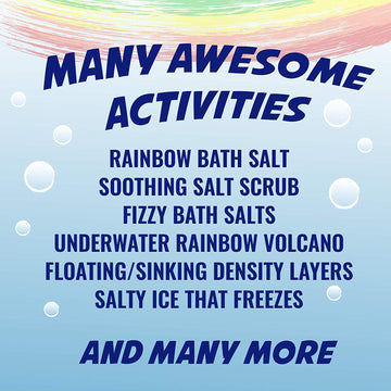 Rainbow Bath Scrub Science Kit