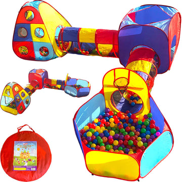 Jungle Gym Playhouse (Red, Blue, Yellow, Teal)