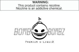 BOMB BOMBZ E LIQUID WHOLESALE