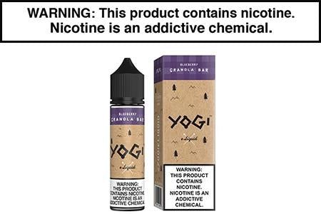 BLUEBERRY GRANOLA BAR BY YOGI E LIQUID