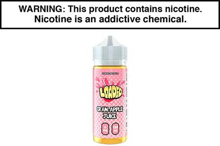 CRAN APPLE JUICE BY LOADED E LIQUID
