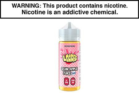 CRAN APPLE JUICE ICED BY LOADED E LIQUID