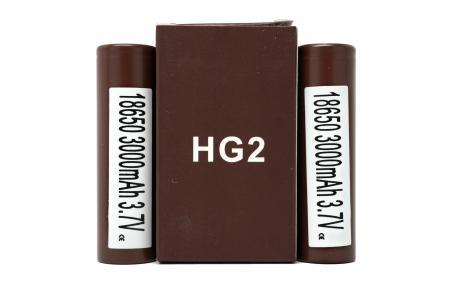 LG BROWN HG2 INR 3000MAH 18650 BATTERIES