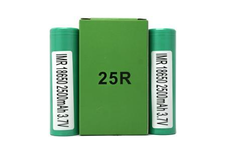 SAMSUNG INR 18650 25R FLAT TOP BATTERIES