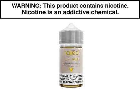 EURO GOLD TOBACCO BY NAKED 100 VAPE JUICE