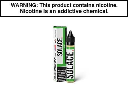 MINT BY SOLACE VAPOR NICOTINE SALT