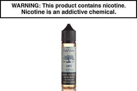 CAFE BY RIPE VAPES SYNTHETIC 60ML