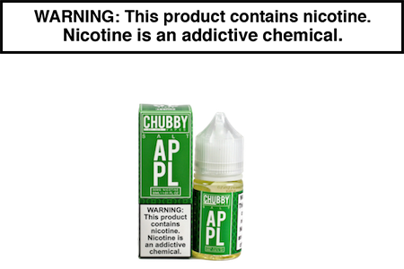 APPLE BY CHUBBY BUBBLE VAPES NIC SALT
