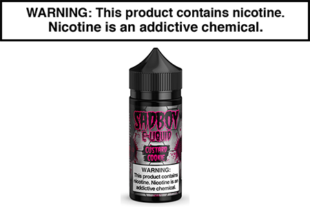 CUSTARD COOKIE BY SADBOY E LIQUID