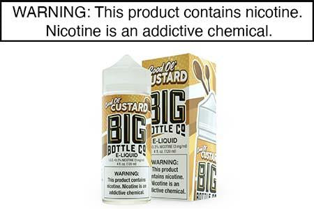 GOOD OL' CUSTARD BY BIG BOTTLE CO 120ML