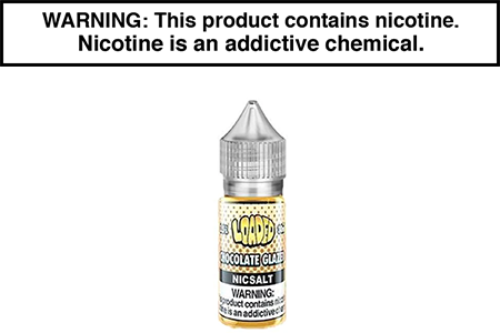 CHOCOLATE GLAZE BY LOADED NICOTINE SALT