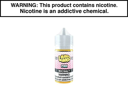 COTTON CANDY PINK BY LOADED NICOTINE SALT