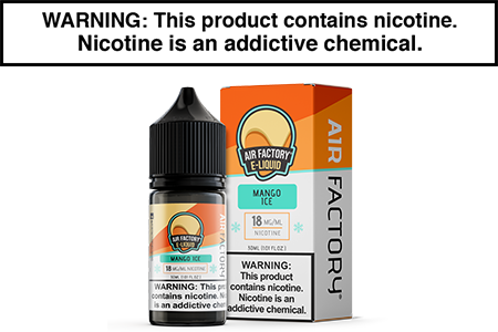MANGO ICE BY AIR FACTORY SALT