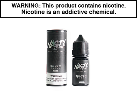 SILVER BLEND BY NASTY JUICE SALT