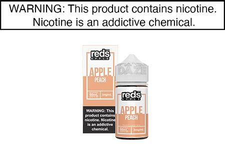 PEACH BY REDS APPLE E JUICE 60ML