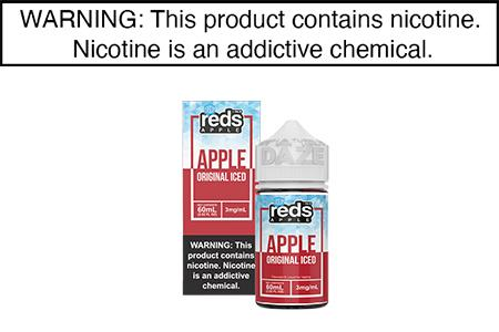 APPLE ICED BY REDS APPLE E JUICE 60ML