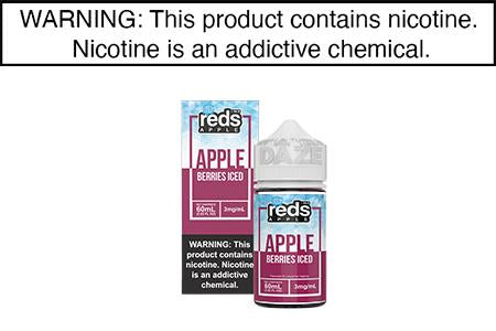 RED APPLE BERRY ICED BY REDS APPLE E JUICE 60ML